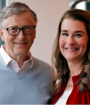 Bill Gates and Melinda French Gates