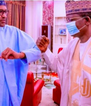 President Buhari and Gov. Metawwale