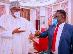 President Buhari and Gov. Ayade