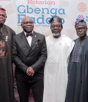 Rotarian Gbenga Badejo, Segun Adebowale and others