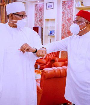 President Buhari and Gov. Uzodinma